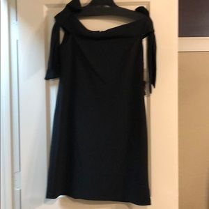donna MORGAN  off shoulder dress with straps